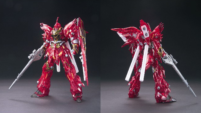Limited edition model kit (sinanju) - Copy
